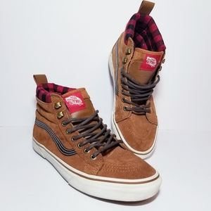 VANS Off The Wall Men's Shoes Sz8.5 Suede High Top